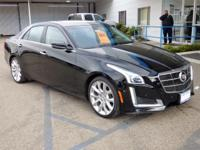 Options:  2014 Cadillac Cts Sedan 4Dr Sdn 3.6L