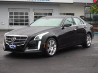 This BLACK 2014 Cadillac CTS 3.6L Premium Collection