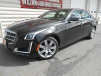 All Wheel Drive, stunning CTS-4 Sedan with every