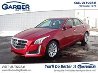 New Price! Heated Leather Seats, CTS 2.0L Turbo, 4D