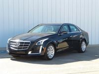 New Price! Clean CARFAX. Black Raven 2014 Cadillac CTS