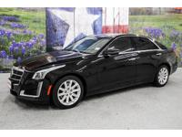 *Turn heads in this black raven 2014 Cadillac CTS