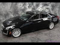 This 2014 Cadillac CTS 2.0T Luxury Collection AWD sedan