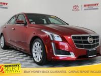 New Price! 2014 Cadillac CTS 3.6L Luxury Certification