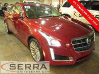 2014 CADILLAC CTS AWD 2.0 L TURBO LUXURY SEDAN, GM