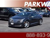 2014 Cadillac ELR Graphite Metallic Electric Drive