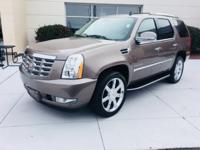 CLEAN VEHICLE HISTORY, CADILLAC DEALER MAINTAINED,