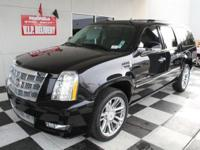 Escalade ESV Platinum Edition, Black Raven, and