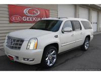 Oh wow! Escalade ESV Platinum All Wheel Drive in