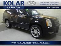 Escalade ESV Premium. Flex Fuel! Yes! Yes! Yes!   Stop