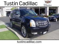 Platinum trim. CARFAX 1-Owner, Cadillac Certified,