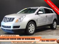 2014 Cadillac SRX. Cadillac Certified. Low Miles! Nice