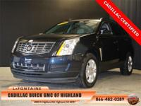 2014 Cadillac SRX. Super Low Miles. Cadillac Certified