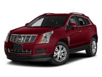 2014 Cadillac SRX Luxury in White. AWD. Wow! Where do I