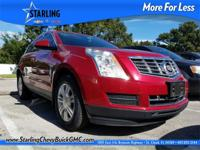 New Price! This 2014 Cadillac SRX Luxury in Crystal Red