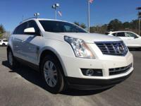 Certified. White 2014 Cadillac SRX Luxury FWD 6-Speed
