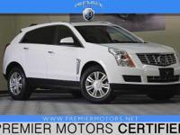 Options:  2014 Cadillac Srx Luxury
