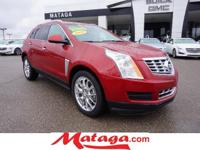 2014 Cadillac SRX Luxury in Crystal Red Tintcoat with