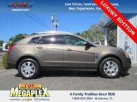This 2014 Cadillac SRX Luxury in Brown is well equipped