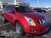 2014 Cadillac SRX Performance in Red. Recent Arrival!