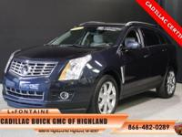 2014 Cadillac SRX Premium in Sapphire Blue Metallic and