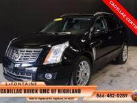 2014 Cadillac SRX Premium in Black Raven. Cadillac