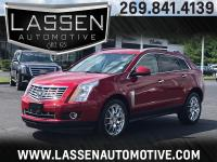 Options:  2014 Cadillac Srx 4D Suv Awd Premium|Red|V6