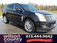 2014 Cadillac SRX Premium 3.6L V6 DGI DOHC VVT Black