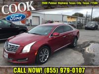 Clean CARFAX. Crystal Red Tint 2014 Cadillac XTS FWD