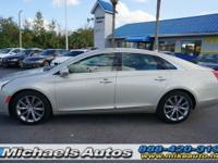 Cadillac XTS. CARFAX Certified 1-Owner. Well Equipped.