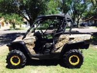 Extremely well maintained 2014 Can-Am Commander XT 800