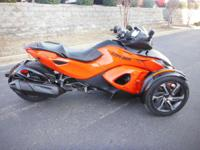 2014 Can-Am Spyder RS-S SE5 Used Can-Am Spyder RS-SE5