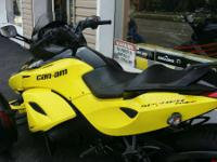 2014 Can-Am Spyder RS-S SE5 Used with full warranty
