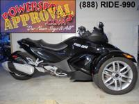 2014 Can-Am Spyder RS-S-SE5 For sale with only 1,808
