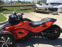 2014 Can-Am Spyder RS-S machines left in stock. This is