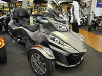 2014 Can-Am Spyder RT Limited LOADED! Motorcycles