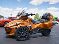 2014 Can Am Spyder RT-S Only 1400 Miles High Optioned