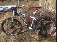 2014 Cannondale F29 Carbon 2 size largeThis is a full