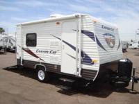 2014 Canyon Pet cat 14TFC Toy Hauler - Ultra Lite