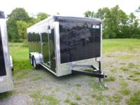 2014 Car Mate Trailers 7 x 16 HD Custom Cargo