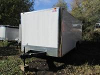 BRAND NEW 2014 CARGO MATE ENCLOSED TRAILER 8 1/2 X 20