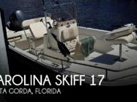 2014 Carolina Skiff 17 - Stock #088576 -