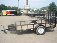 2014 Carry-On 5.5X10 In Stock Utility Trailers