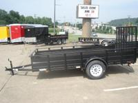 2014 Carry-On 6X12 Solid Side In Stock Utility Trailers