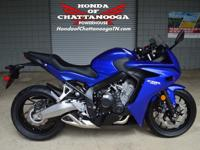 Check out our Blue 2014 CBR650F Sale Price at Honda of