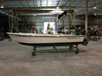 This boat is in excellent condition. The Yamaha F90LA