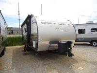 2014 Cherokee Grey Wolf 18Ft Rear Bath Travel Trailer,