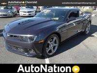 This 2014 Chevrolet Camaro SS is happily offered by