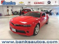 2014 Chevrolet Camaro, Touch Screen, Satellite Radio,