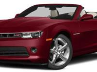 2014 Chevrolet Camaro LT Convertible, Summit